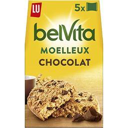 LU LU Belvita Petit Déjeuner - Biscuits Le Moelleux pépite...