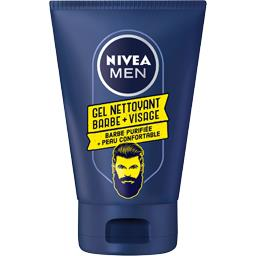 Gel nettoyant barbe + visage