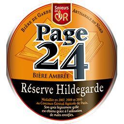 Bière ambrée Réserve Hildegarde