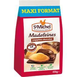 St Michel Madeleines nappées chocolat le paquet de 450 g -