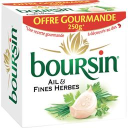 Boursin Fromage à tartiner ail & fines