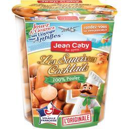 Jean Caby Les Saucisses cocktails l'Originale 100% poulet le pot de 200 g