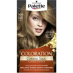 Coloration crème soin blond foncé 500
