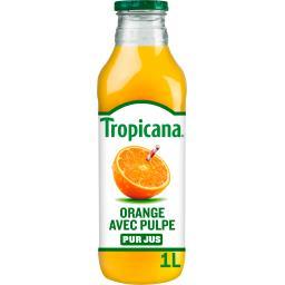Pure Premium - Jus d'oranges du Brésil avec pulpe