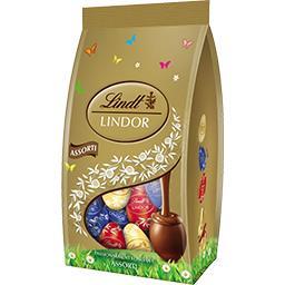 Lindt Lindt Lindor - Petits œufs assortis