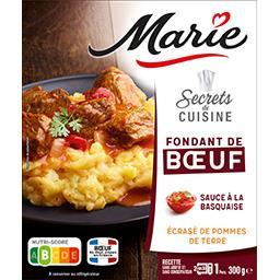Secrets de Cuisine - Bœuf sauce basquaise pommes de ...