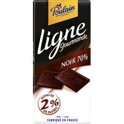 Ligne Gourmande - Chocolat noir 70%