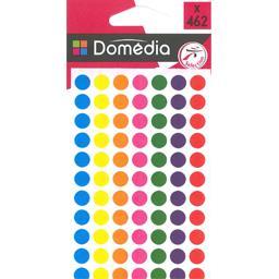 Pastilles adhésives D 8 mm, 7 couleurs assorties