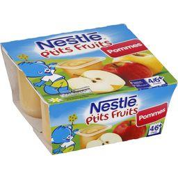 P'tits Fruits - Desserts pommes, 4/6+ mois