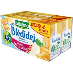 Blédidej - Céréales au lait de suite saveur madelein...