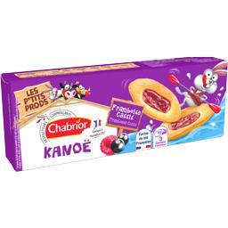 Chabrior Biscuits Kanoë framboise cassis le paquet de 120 g