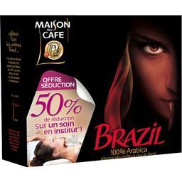 Café moulu 100% arabica - Brazil