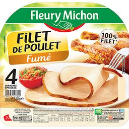 Fleury Michon Filet de poulet fumé