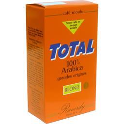 Café moulu blond Total 100% arabica