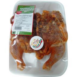 Poulet barbecue assaisonné