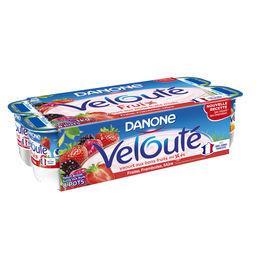 Velouté Fruix - Yaourt brassé fraise framboise fruit...