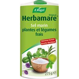 Sel marin plantes et légumes frais BIO
