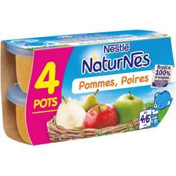 Pommes poires, dès 4-6 mois