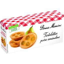 Les Tartelettes poire amandine