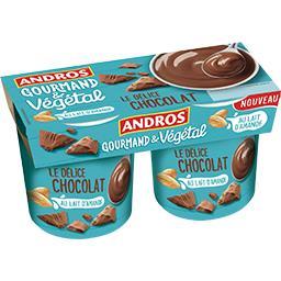 Gourmand & Végétal - Le Délice Chocolat au lait d'am...