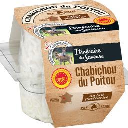 Chabichou du Poitou au lait pasteurisé pur chèvre