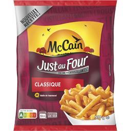 Mc Cain Just au Four - La frite classique moelleuse et crous...