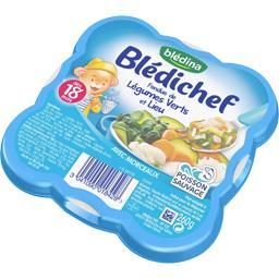 Blédichef - Fondue de légumes verts et lieu, dès 18 ...