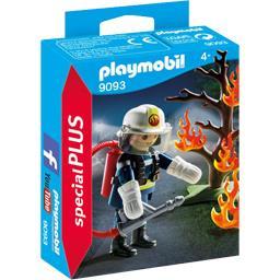 Special Plus - Pompier avec arbre en feu 4+