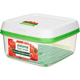 Boîte de préservation FreshWorks carrée 2,6 l