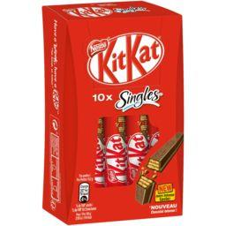 KitKat - Barres chocolatées Singles