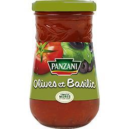 Sauce tomate Olives & Basilic