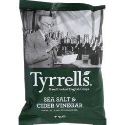 Chips de pommes de terre, sel de mer & vinaigre de c...