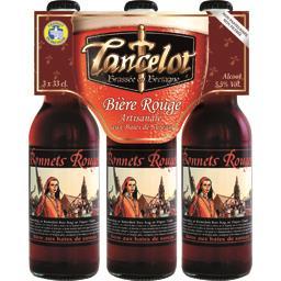 Bière rouge Bonnets Rouges aux baies de sureau