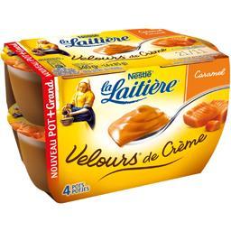 Nestlé La Laitière Velours de crème caramel