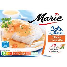 Marie Colin d'Alaska bisque de crevettes