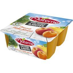 Sans Sucres Ajoutés - Spécialité de pomme pêche abri...