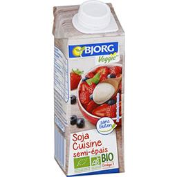 Bjorg Soja Cuisine semi-épais BIO