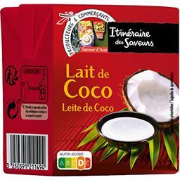 Lait de coco - Saveur d'Asie