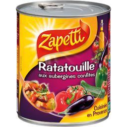 Ratatouille aux aubergines confites