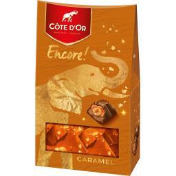 Côte d'Or Encore! - Chocolat caramel fourré crème noisettes en...