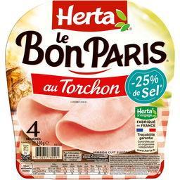 Le Bon Paris - Jambon au torchon réduit en sel