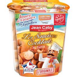 Jean Caby Les Saucisses cocktails l'Originale au cumin le pot de 200 g