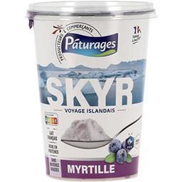 Spécialité laitière Skyr myrtille