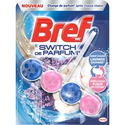 WC - Bloc WC Switch de Parfum lavande sauvage/fleur ...