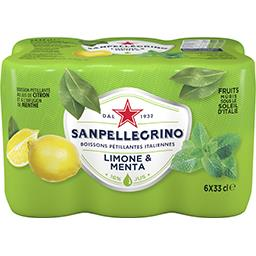 Boisson pétillante Limone e Menta