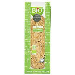 Pain aux 5 céréales et aux graines BIO