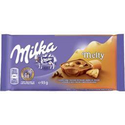 Melty - Chocolat caramel Fudge, biscuits, pépites chocolat