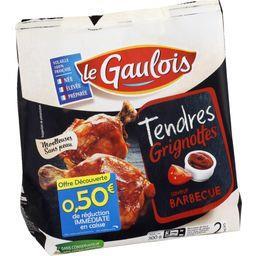 Le Gaulois Tendres Grignottes saveur barbecue le sachet de 300 g