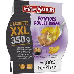 L'Assiette XXL - Potatoes poulet kebab