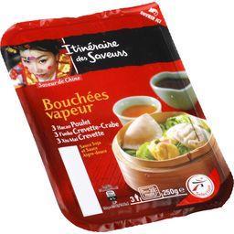 Bouchées vapeur sauces soja et aigre douce - Saveur de Chine